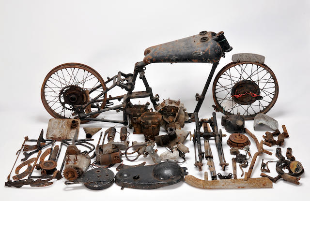 1930 Brough Superior Black Alpine 680 Project Frame no. 1060 Engine no. 8407/S