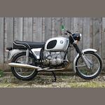 1972 BMW 745cc R75/5 Frame no. 2989404 Engine no. 2989404