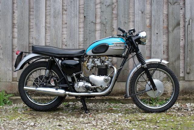 1961 Triumph 649cc T120R Bonneville Frame no. D11517 Engine no. D11517 T120R
