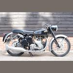 c.1960 Velocette 499cc Venom Engine no. VM4204