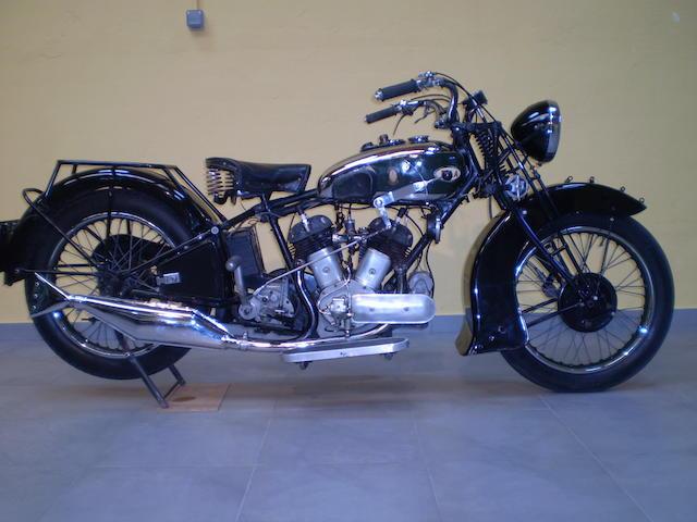 1934 BSA 986cc Model G34-14 Frame no. E14 146 Engine no. E14 146