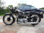 1935 Ariel 601cc 'Square Four' Frame no. Y8698 Engine no. WA264