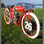 1911 Indian 580cc TT Racing Motorcycle Re-creation