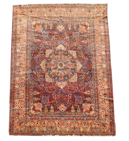 A Kirman carpet, South East Persia, 533cm x 360cm