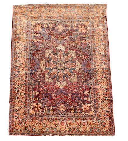 A Kirman carpet, South East Persia, 533cm x 360cm