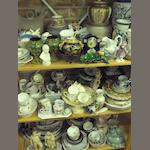 A large collection of mixed ceramics