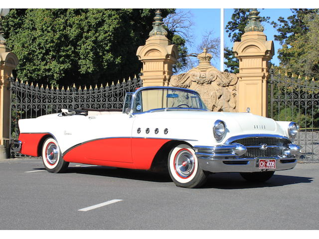 1955 Buick Super Convertible (LHD)  Chassis no. 5B6008154 Engine no. V8145055
