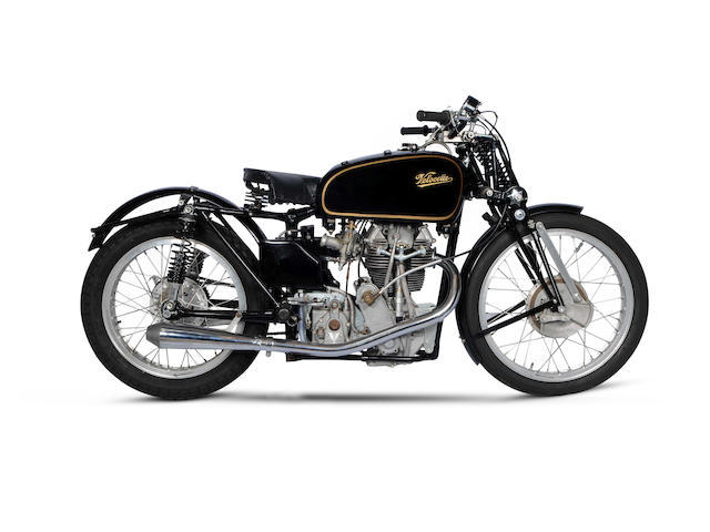 From the Estate of Leo Andrews,c.1950 Velocette KTT Frame no. 158 Engine no. KTT1079