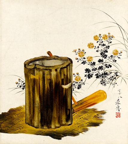 Shibata Zeshin (1807-1891) Circa 1885