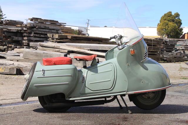 1954 Maico Mobil 197cc MB200 Scooter Frame no. 301-430