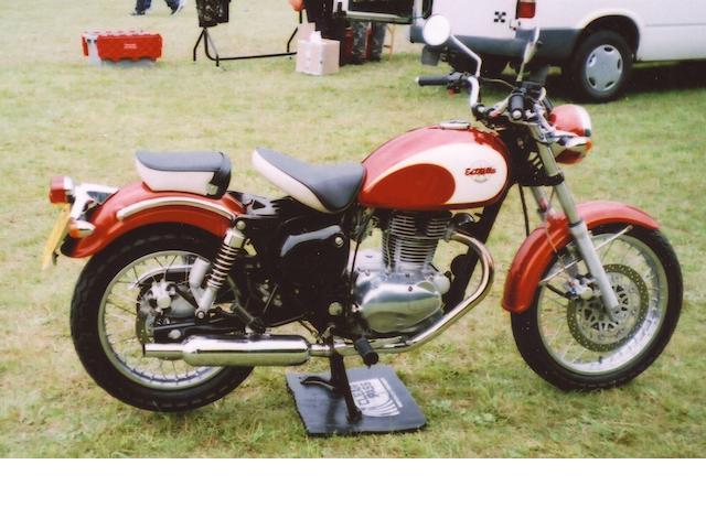 1992 Kawasaki BJ250A Estrella Frame no. BJ250A000754 Engine no. BJ250AE014458