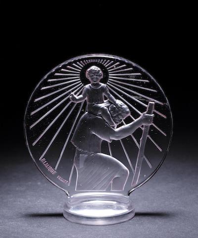 René Lalique 'Saint-Christophe' 1142