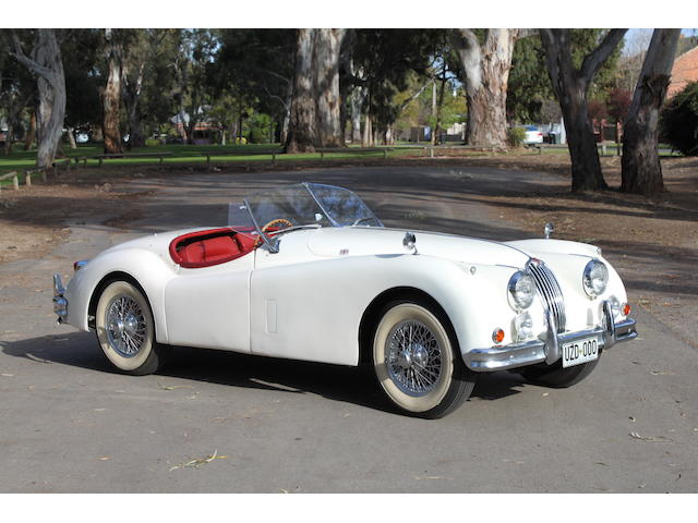1956 Jaguar XK140 Roadster  Chassis no. S812144DN Engine no. G7002-8S