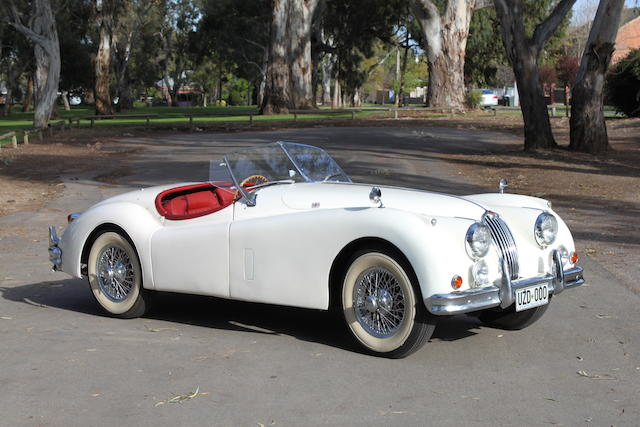 1956 Jaguar XK140 SE Roadster  Chassis no. S812144DN Engine no. G7002-8S