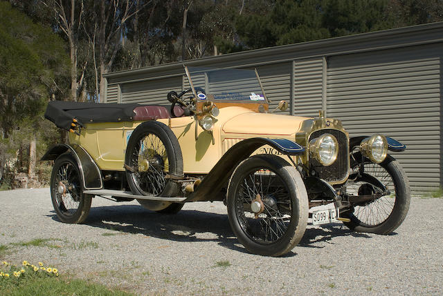 1913 Vauxhall D-type Open Tourer  Chassis no. D209 Engine no. D278
