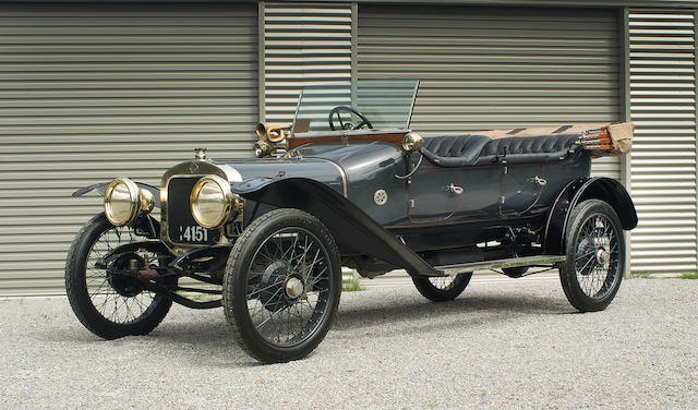 1913 Sunbeam 12/16hp Open Tourer  Chassis no. 7022 Engine no. 6513