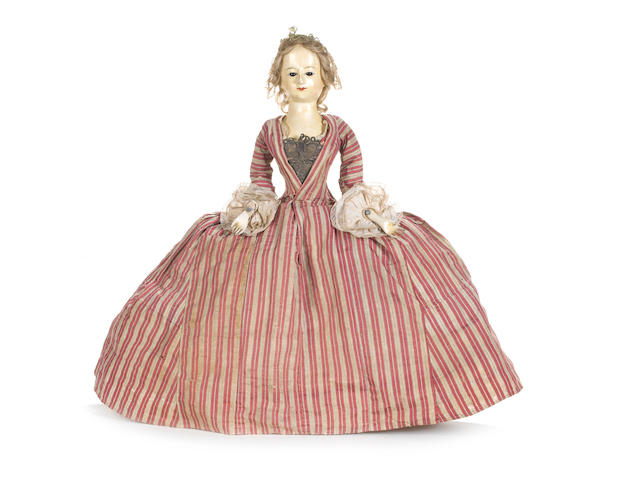 Marianna early English wooden doll
