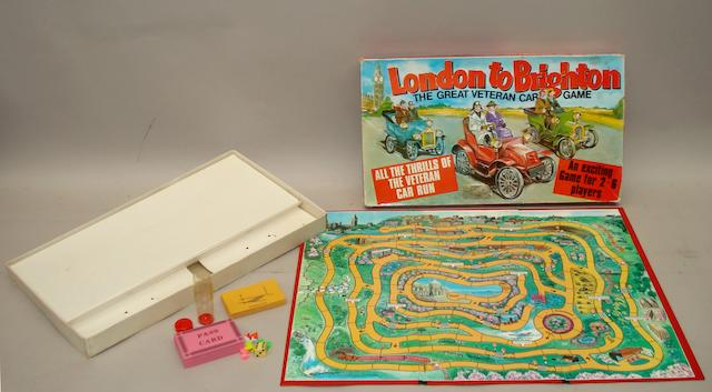 London to Brighton The Great Veteran Car Board Game