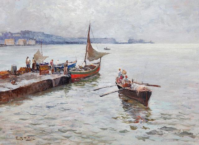 Fausto Pratella (Italian, 1888-1964) Golfo di Napoli