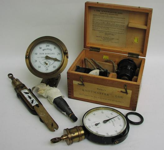 "A Walker's ""Tom Bowling"" ship's log recording instrument, 5"