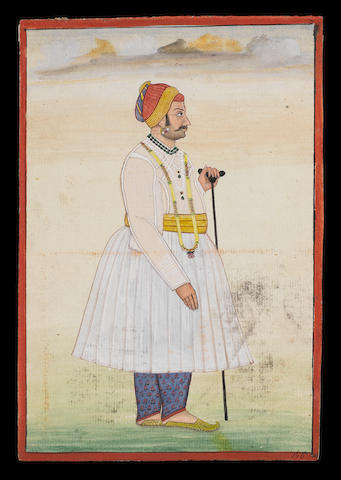 Three Indian pictures 18th or 19th century