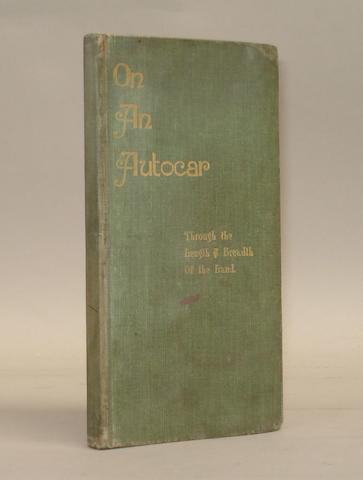 Henry Sturmey: On an Autocar; 1897,