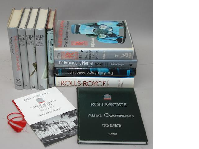 Nine Rolls-Royce books
