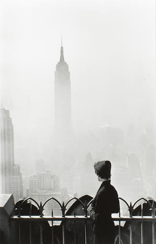 Elliott Erwitt (American, born 1928) New York City, 1955 Paper 50.5 x 40.4cm (19 7/8 x 15 7/8in), image 44.8 x 29.7cm (17 5/8 x 11 11/16in).