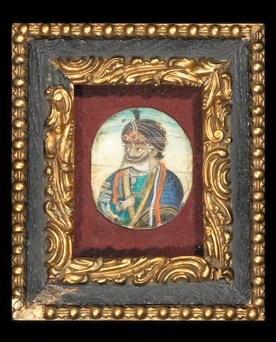A portrait of Maharajah Gulab Singh (1792-1857) Punjab Plains, circa 1850-60