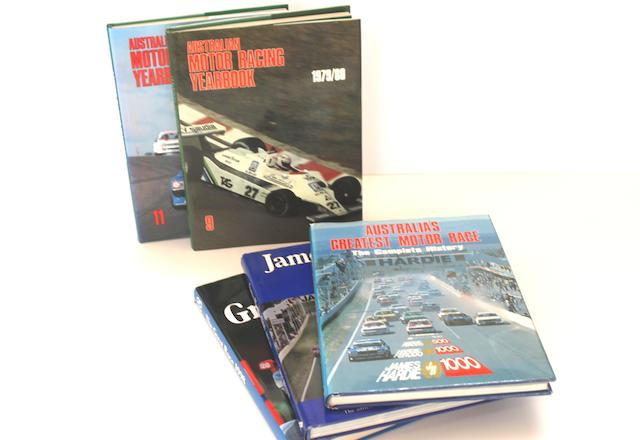 A collection of Australian Motor Racing Annuals