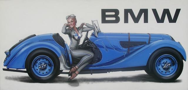 Tony Upson, 'BMW 328',