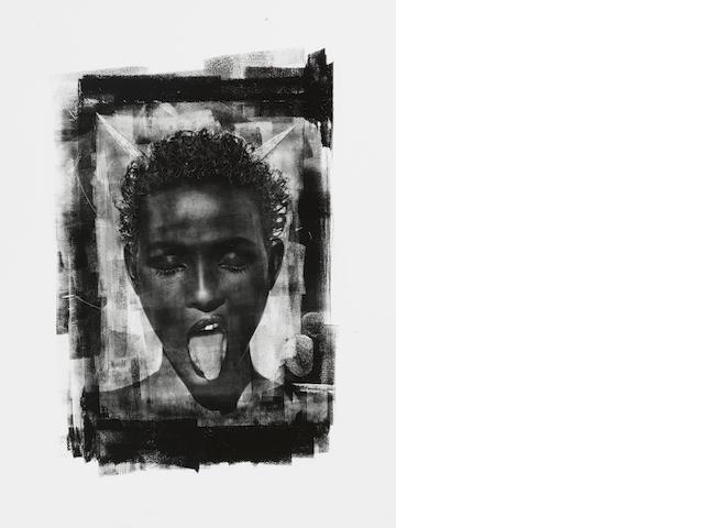Albert Watson (American, born 1942) Waris, Maroc, 1993 Paper 60.4 x 50.5cm (23 3/4 x 19 7/8in), image 30.5 x 20.7cm (12 x 8 1/8in).
