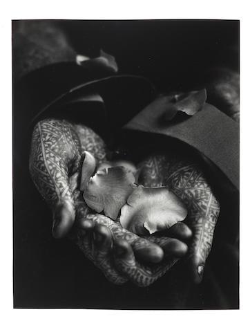 Albert Watson, Flower Seller, Maroc, 1989