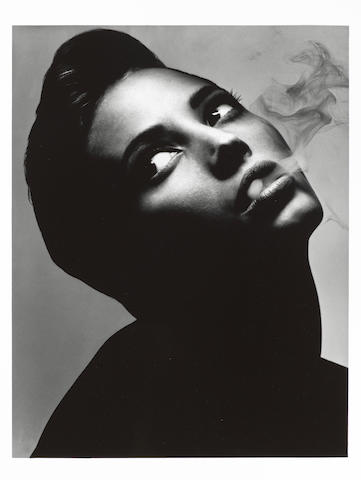 Albert Watson, Christy Turlington, 1990