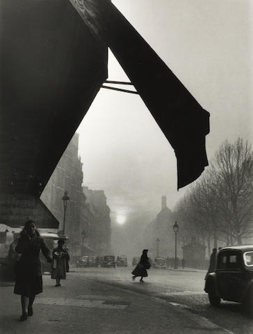 Willy Ronis (French, 1910-2009) Carrefour Sèvres Babylone, Paris, 1948 Paper 40.4 x 30.5cm (15 7/8 x 12in) image 29.9 x 22.6cm (11 3/4 x 8 7/8in).