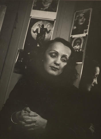 François Kollar (French, 1904-1979) Edith Piaf, 1939