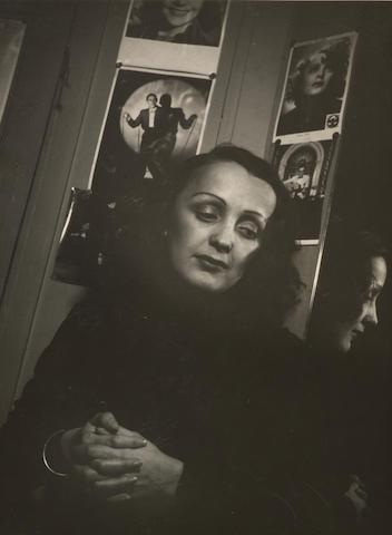 François Kollar (French, 1904-1979) Edith Piaf, 1939 23.8 x 17cm (9 3/8 x 6 11/16in).