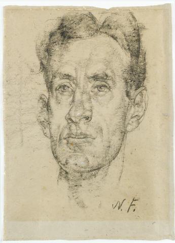Nikolai Fechin (Russian, 1881-1955) Portrait