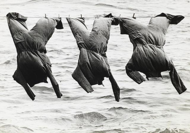 Aart Klein (Dutch, 1909-2001) Rotterdam Skippers' Overalls, 1966