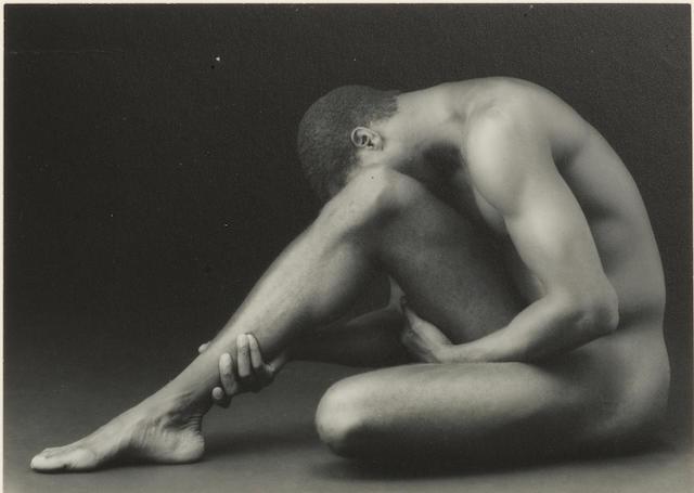 Robert Mapplethorpe (American, 1946-1989) Tyrone, 1987 12.6 x 17.6cm (4 15/16 x 6 15/16in).