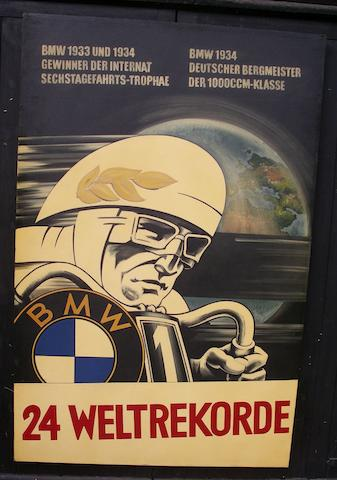 Tony Upson, 'BMW Weltrekorde 1934',