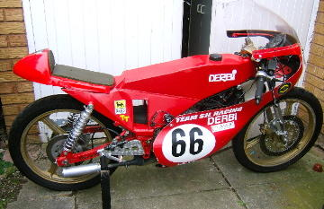 c.1980 Derbi 50cc Racing Motorcycle Engine no. to be advised