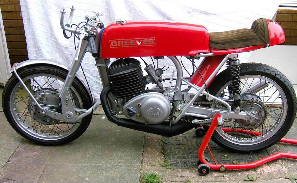 1967 Greeves 246cc Silverstone RES Frame no. 24RES 128 Engine no. GPA 2237