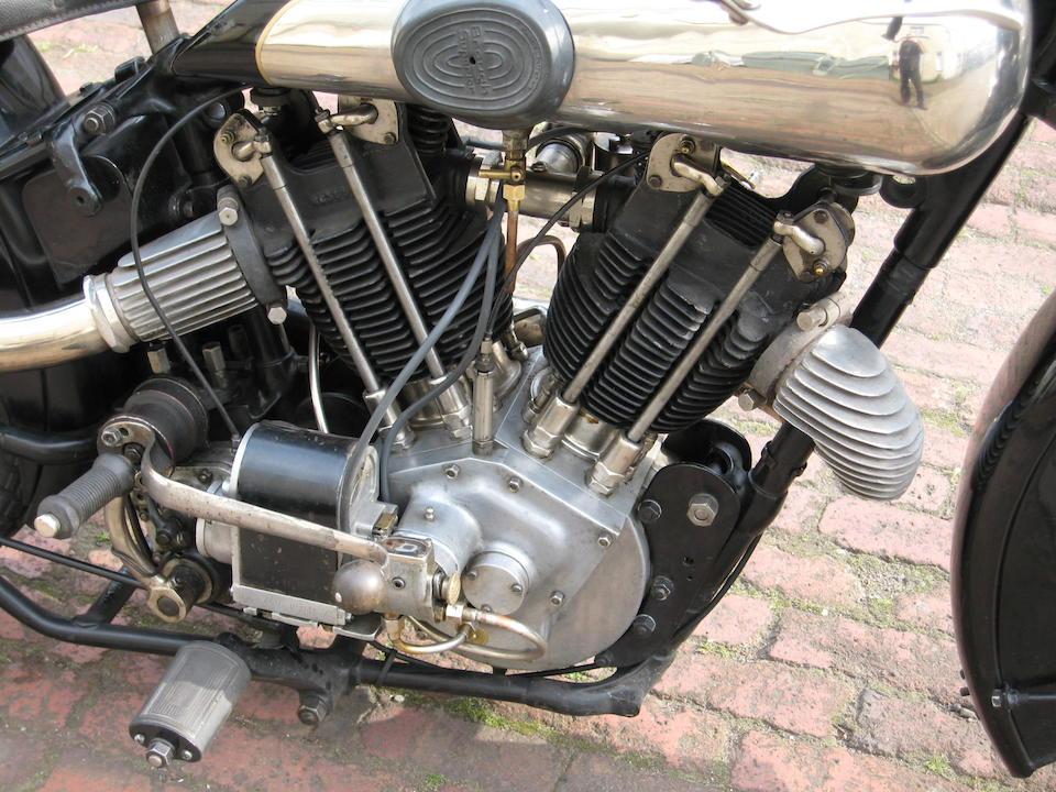 1928 Brough Superior 980cc SS100 Frame no. 959 (see text) Engine no. KTOR/A 44091