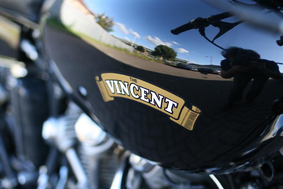 1955 Vincent 998cc Series-D Black Shadow Frame no. RD 12750B Engine no. F10AB/2B/10850