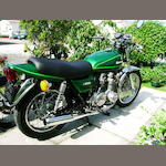 1977 Kawasaki Z650 B1 Frame no. KZ650B 003284 Engine no. KZ650BE 003376