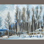Painting 3 R. Koryakin, WInter