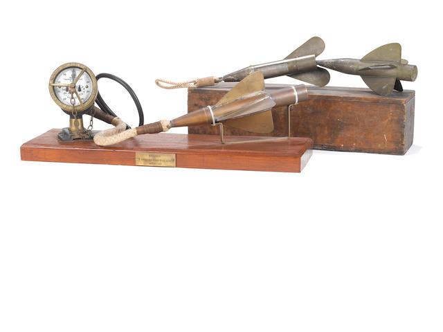 "A Walker's ""Anchor"" ship's No.2 trailing log, 3"