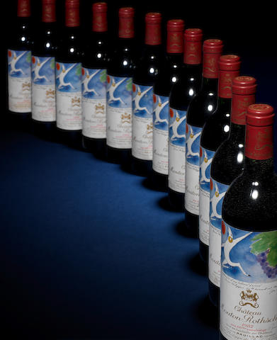 Chateau Mouton Rothschild 1982 (12)