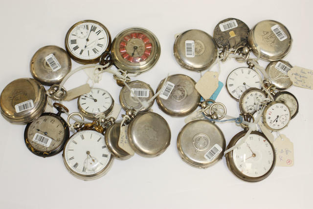 A quantity of pockert watches.